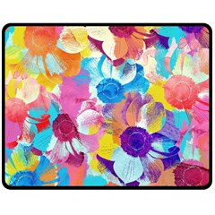 Anemones Double Sided Fleece Blanket (Medium)
