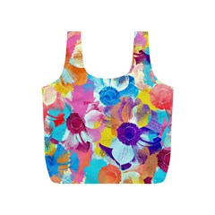 Anemones Full Print Recycle Bags (S)
