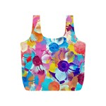 Anemones Full Print Recycle Bags (S)  Front