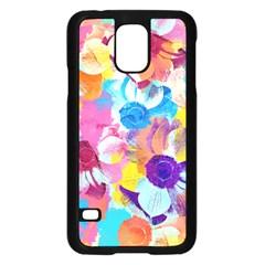 Anemones Samsung Galaxy S5 Case (black)