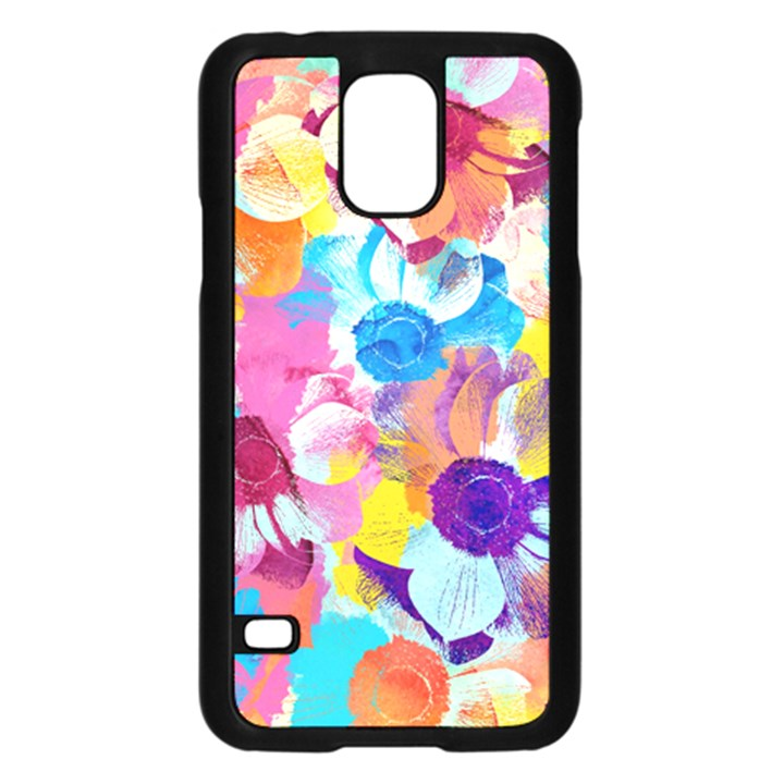 Anemones Samsung Galaxy S5 Case (Black)
