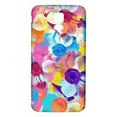 Anemones Samsung Galaxy S5 Back Case (White)