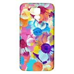Anemones Samsung Galaxy S5 Back Case (White) Front