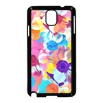 Anemones Samsung Galaxy Note 3 Neo Hardshell Case (Black) Front