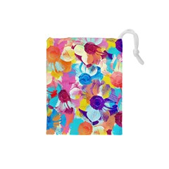 Anemones Drawstring Pouches (Small)