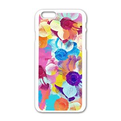 Anemones Apple Iphone 6/6s White Enamel Case