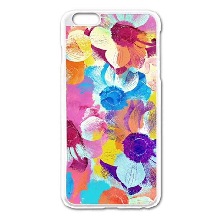 Anemones Apple iPhone 6 Plus/6S Plus Enamel White Case