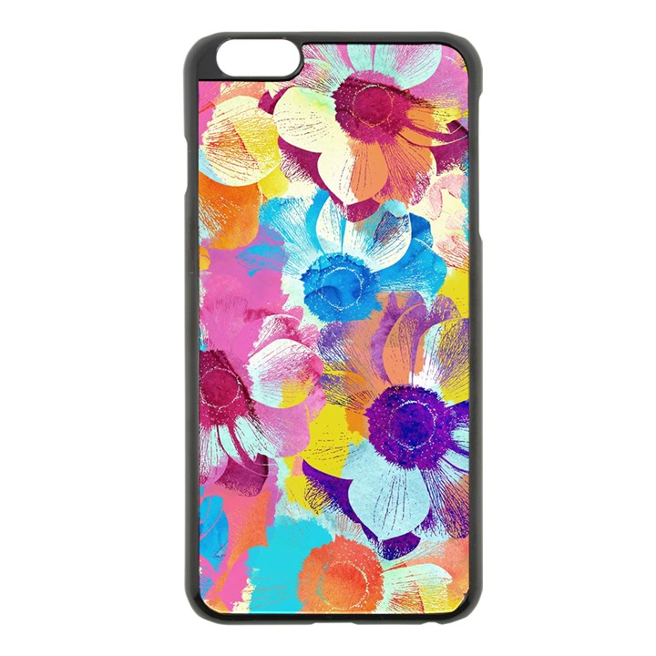 Anemones Apple iPhone 6 Plus/6S Plus Black Enamel Case