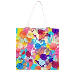 Anemones Grocery Light Tote Bag