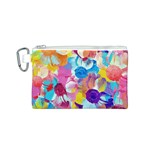Anemones Canvas Cosmetic Bag (S) Front