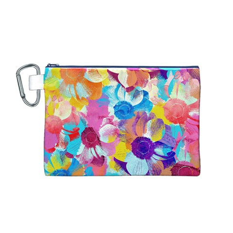 Anemones Canvas Cosmetic Bag (M)