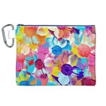 Anemones Canvas Cosmetic Bag (XL) Front