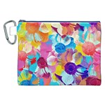 Anemones Canvas Cosmetic Bag (XXL) Front