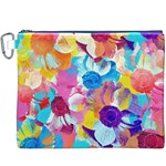 Anemones Canvas Cosmetic Bag (XXXL) Front
