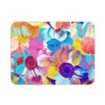Anemones Double Sided Flano Blanket (Mini)  35 x27 Blanket Back