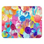 Anemones Double Sided Flano Blanket (Large)  80 x60 Blanket Front