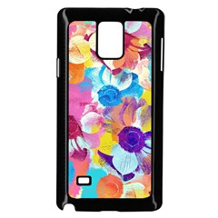 Anemones Samsung Galaxy Note 4 Case (Black)