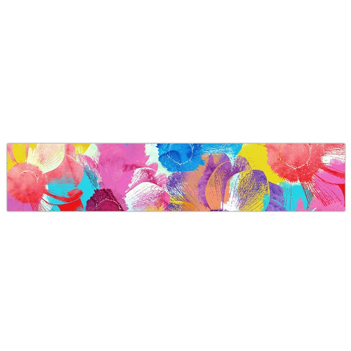 Anemones Flano Scarf (Small)