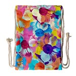 Anemones Drawstring Bag (Large) Front