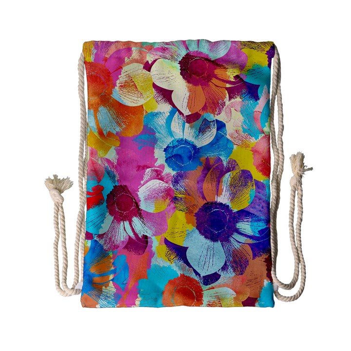 Anemones Drawstring Bag (Small)
