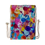 Anemones Drawstring Bag (Small) Back