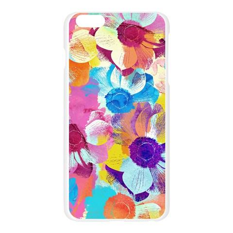 Anemones Apple Seamless iPhone 6 Plus/6S Plus Case (Transparent)