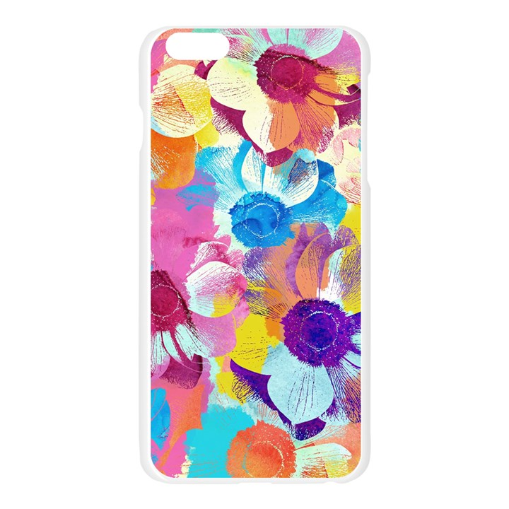 Anemones Apple Seamless iPhone 6 Plus/6S Plus Case (Transparent)