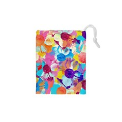Anemones Drawstring Pouches (XS)