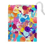 Anemones Drawstring Pouches (XXL) Front