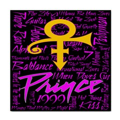 Prince Poster Tile Coasters