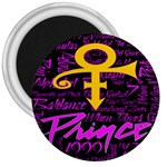 Prince Poster 3  Magnets Front