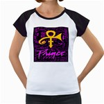 Prince Poster Women s Cap Sleeve T Front