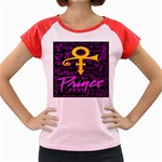 Prince Poster Women s Cap Sleeve T-Shirt Front