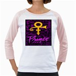 Prince Poster Girly Raglans Front