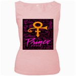 Prince Poster Women s Pink Tank Top Front