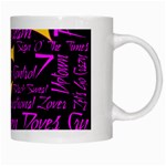 Prince Poster White Mugs Right