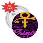 Prince Poster 2.25  Buttons (10 pack)  Front