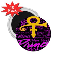 Prince Poster 2 25  Magnets (10 Pack)