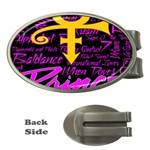 Prince Poster Money Clips (Oval)  Front