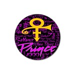 Prince Poster Magnet 3  (Round) Front