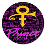 Prince Poster Magnet 5  (Round) Front