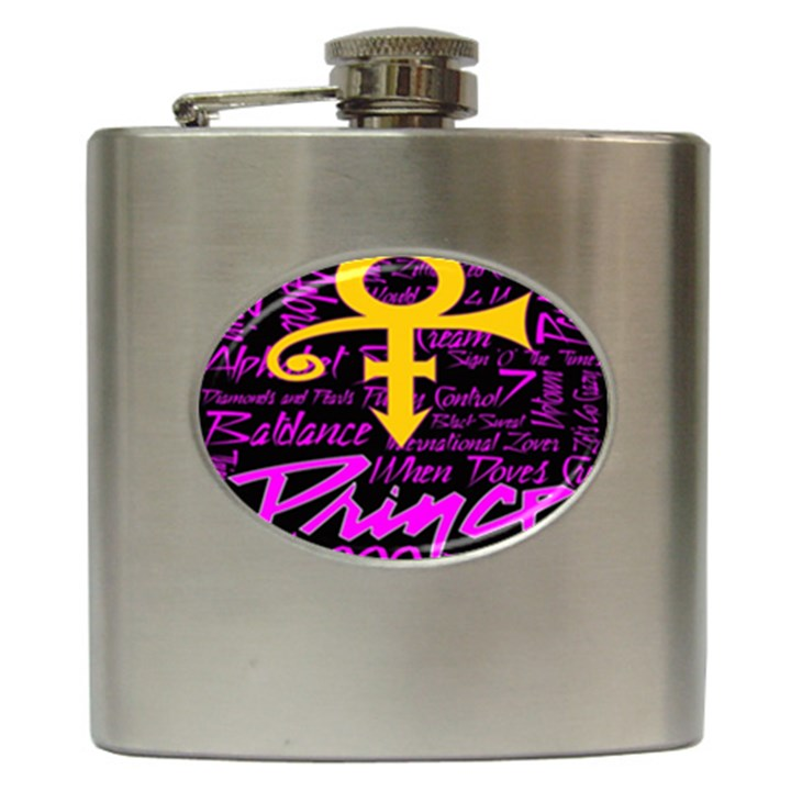 Prince Poster Hip Flask (6 oz)