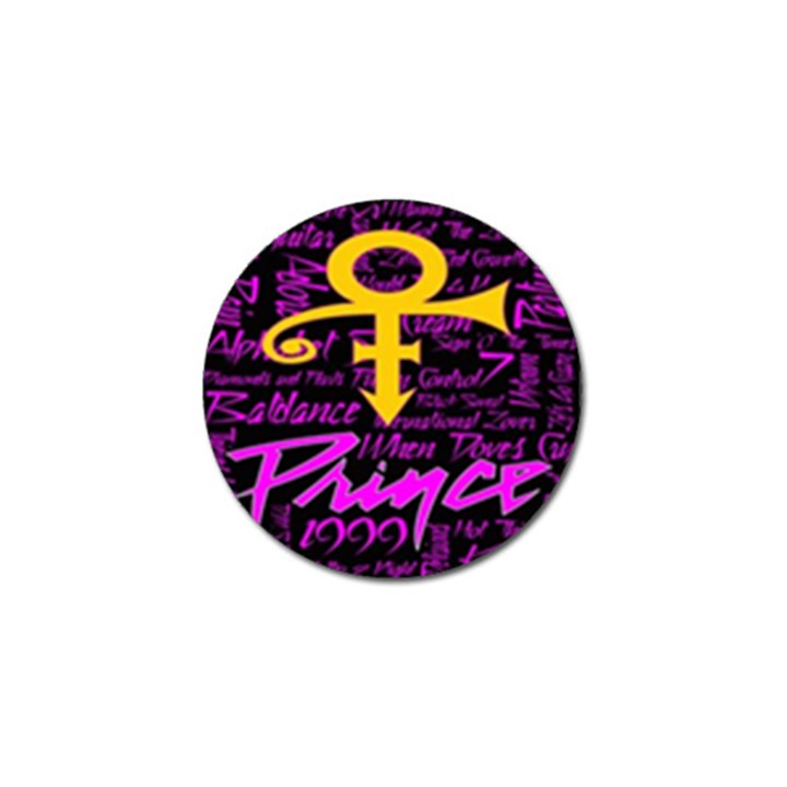 Prince Poster Golf Ball Marker (4 pack)