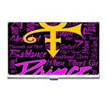 Prince Poster Business Card Holders Front