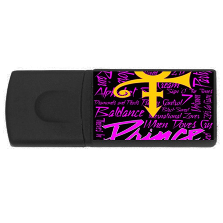 Prince Poster USB Flash Drive Rectangular (1 GB)