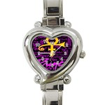 Prince Poster Heart Italian Charm Watch Front
