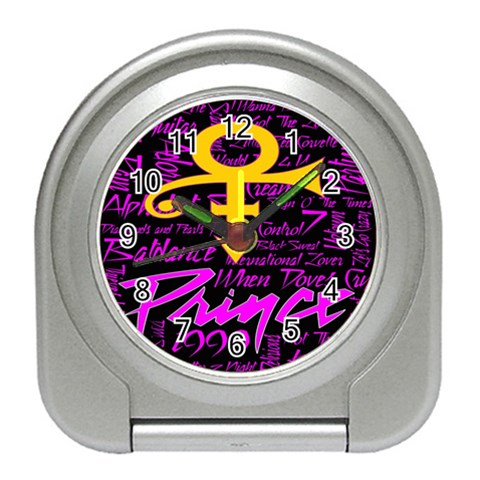Prince Poster Travel Alarm Clocks