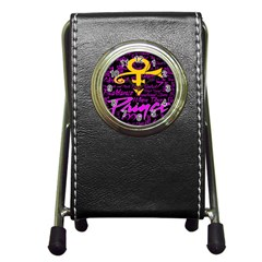 Prince Poster Pen Holder Desk Clocks