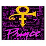 Prince Poster Rectangular Jigsaw Puzzl Front
