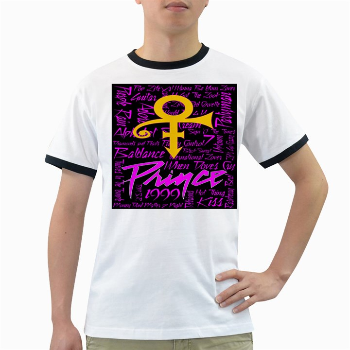 Prince Poster Ringer T-Shirts